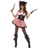 Disfraz de pirata Fever para mujer