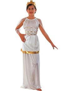 Disfraz de Atenea niña