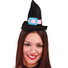 Diadema minisombrero bruja