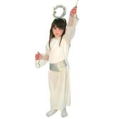 Disfraz de angelito blanco infantil