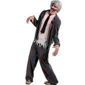 Disfraz de hombre de negocios zombie