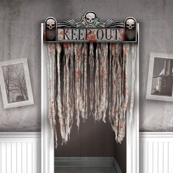 Los must de decoraci n halloween para un fiest n de miedo for Decoracion para puertas halloween