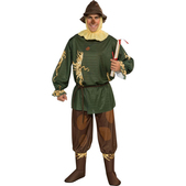 Disfraz de Espantapájaros verde