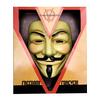 Máscara V de Vendetta deluxe