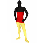Disfraz de bandera de Alemania Morphsuit
