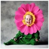 Disfraz de flor Tom Arma para bebé