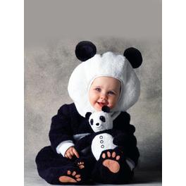 Disfraz de oso panda Tom Arma para bebé