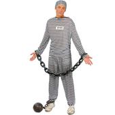 Déguisement de prisonnier pour homme