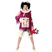 Disfraz de muñeca de trapo diabólica