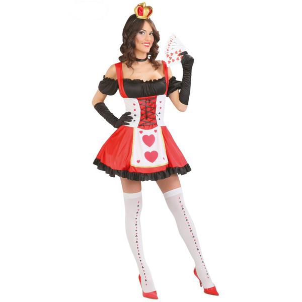Disfraz de reina de las cartas: comprar online en Funidelia.