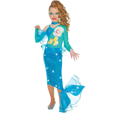 Deguisement sirene fille jeux et jouets sur enperdresonlapin - Deguisement petite fille ...