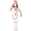 Disfraz de enfermera sangrienta para niña