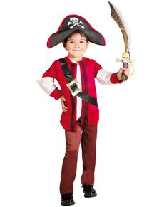 Disfraz de piratilla infantil