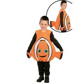 Disfraz de pez payaso infantil
