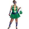 Disfraz de Leonardo de las Tortugas Ninja para mujer talla grande