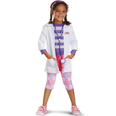 Disfraz de Doctora Juguetes deluxe para niña