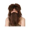 Set de peluca y barba de naúfrago