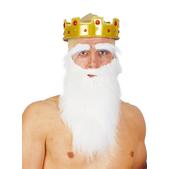 Large White Beard