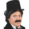 Sombrero chistera negro