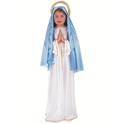 Disfraz de Virgen María niña