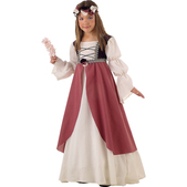 Costume de Clarisse médiévale fille
