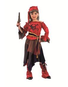 Disfraz de pirata corsaria niña