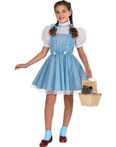 Disfraz de Dorothy niña Deluxe