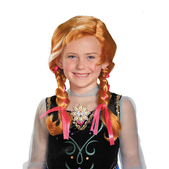 Anna Frozen Toddler Wig
