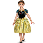 Anna Frozen Coronation Child Costume
