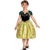 Disfraz de Anna Frozen Coronación para niña