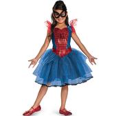 Disfraz de Spidergirl tutú prestige para niña