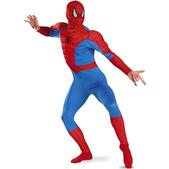 Disfraz de Spiderman classic musculoso para adulto
