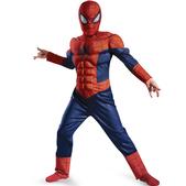 Disfraz de Ultimate Spiderman luminoso para niño