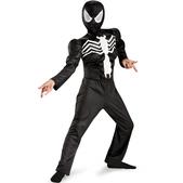 Disfraz de Ultimate Spiderman Negro musculoso para niño