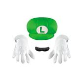 Kit de accesorios Luigi deluxe para niño