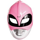 Máscara Power Rangers Mighty Morphin rosa