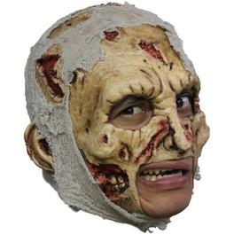 Máscara de zombie deluxe