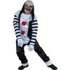 Disfraz de payaso Pierrot Terror Halloween