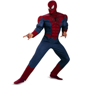 Disfraz The Amazing Spiderman 2 musculoso para adulto