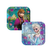 Anna and Elsa Frozen Plates Set