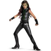 Disfraz de Gamora Guardianes de la Galaxia deluxe para niña