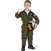 Disfraz de Piloto de las Fuerzas Armadas para niño