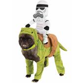 Disfraz de Dewback Star Wars para perro