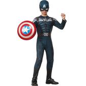 Disfraz de Capitán América Soldado de Invierno traje sigiloso para niño