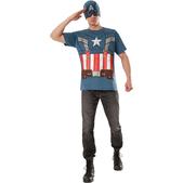 Kit disfraz retro Capitán América y el Soldado de Invierno para hombre