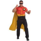 Kit disfraz Robin musculoso para hombre
