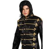 Peluca de Michael Jackson lisa negra