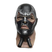 Máscara de Bane Batman Arkham Franchise deluxe de látex para adulto