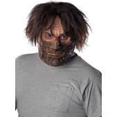 Máscara con bozal Leatherface La Matanza de Texas de látex para hombre