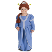 Disfraz de Princesa Fiona Shrek Tercero para bebé